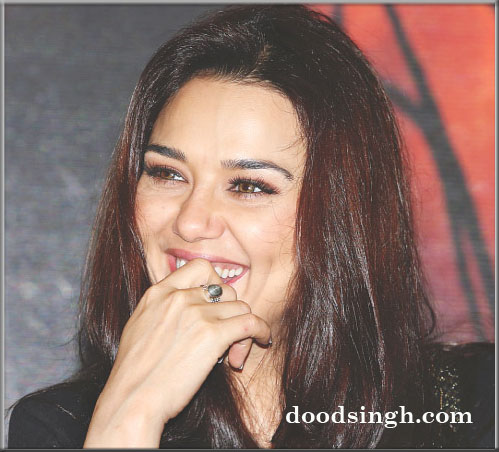 Preity Zinta loves Gym